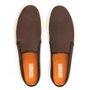 Sapato Masculino Mule Café de Couro Legítimo