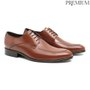 Sapato Masculino Social Clássico Marrom em Couro Legítimo