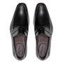 Sapato Masculino Mocassim Loafer Social Preto em Couro Legítimo