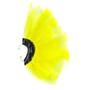 Brinco Penas Amarelo Neon Regulável - 1 PEÇA (Não é o par)