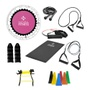 Kit Ginástica em Casa - Queima Completa e Definição Muscular