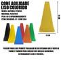 10 Cones Colorido para Circuito- LISO