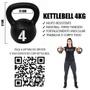 Kettlebell Pintado 4kg