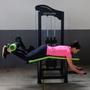 Aparelho Mesa Flexora Deitada para Musculação - Natrus