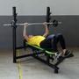 Aparelho Banco de Supino Reto e Inclinado para Musculação - Natrus