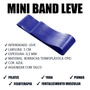 Elástico Mini Band Intensidade Leve