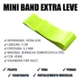 Elástico Mini Band Intensidade Extra Leve