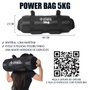 Suporte + Kit 4 Power Bag 5kg Para Academia Funcional