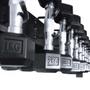 Kit Suporte Torre + Dumbells Sextavados 1kg á 10kg