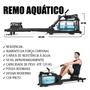 Remo Aquático Simulador Resistência Água