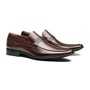 SAPATO LOAFER SOCIAL MASCULINO EM COURO BROWN