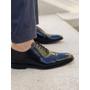 Sapato Masculino Social Oxford Preto em Couro Legítimo