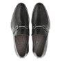 Sapato Masculino Loafer Social Preto em Couro Legítimo