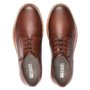 Sapato Masculino Casual Derby Whisky em Couro Legítimo