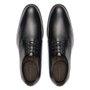 Sapato Masculino Social Derby Preto em Couro Legítimo