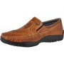 Sapatilha Mocassim Masculina Couro Legítimo Exclusive Framay - 4002 - Whisky