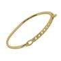 Bracelete Fino Dourado Inoxidável