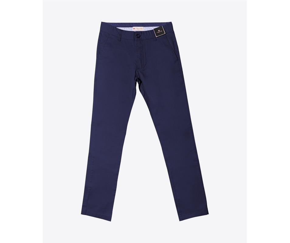 Calça de sarja Azul