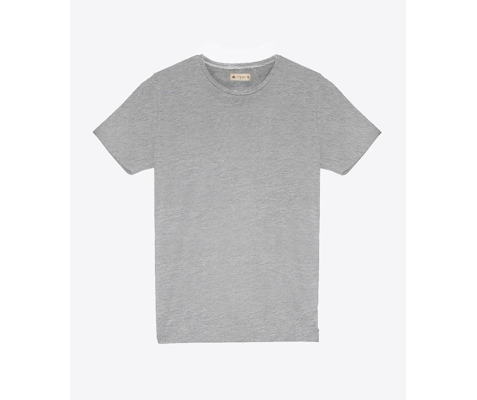 T-shirt Cinza Mescla