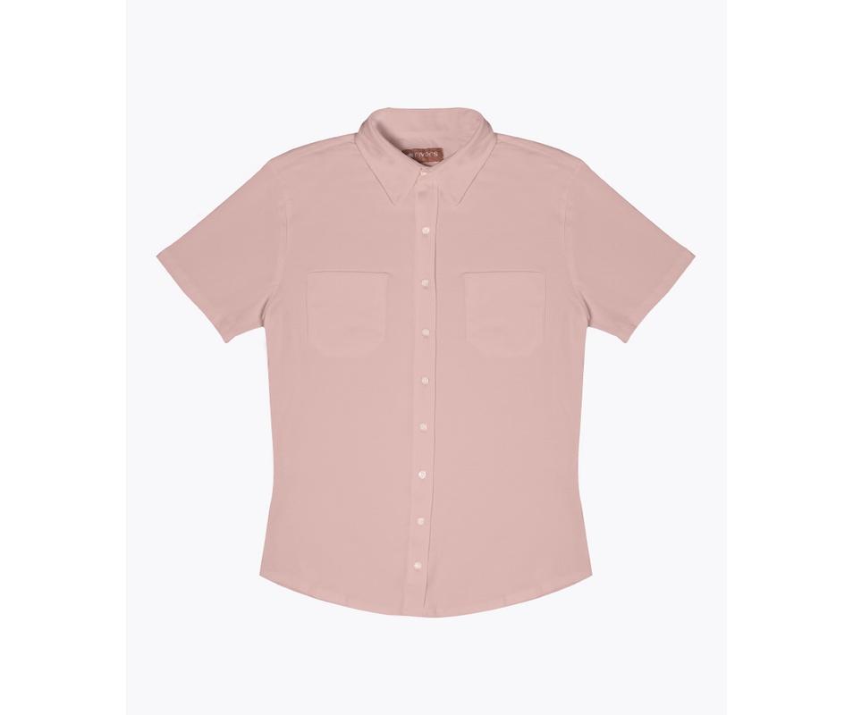 Camisa Malha Bege