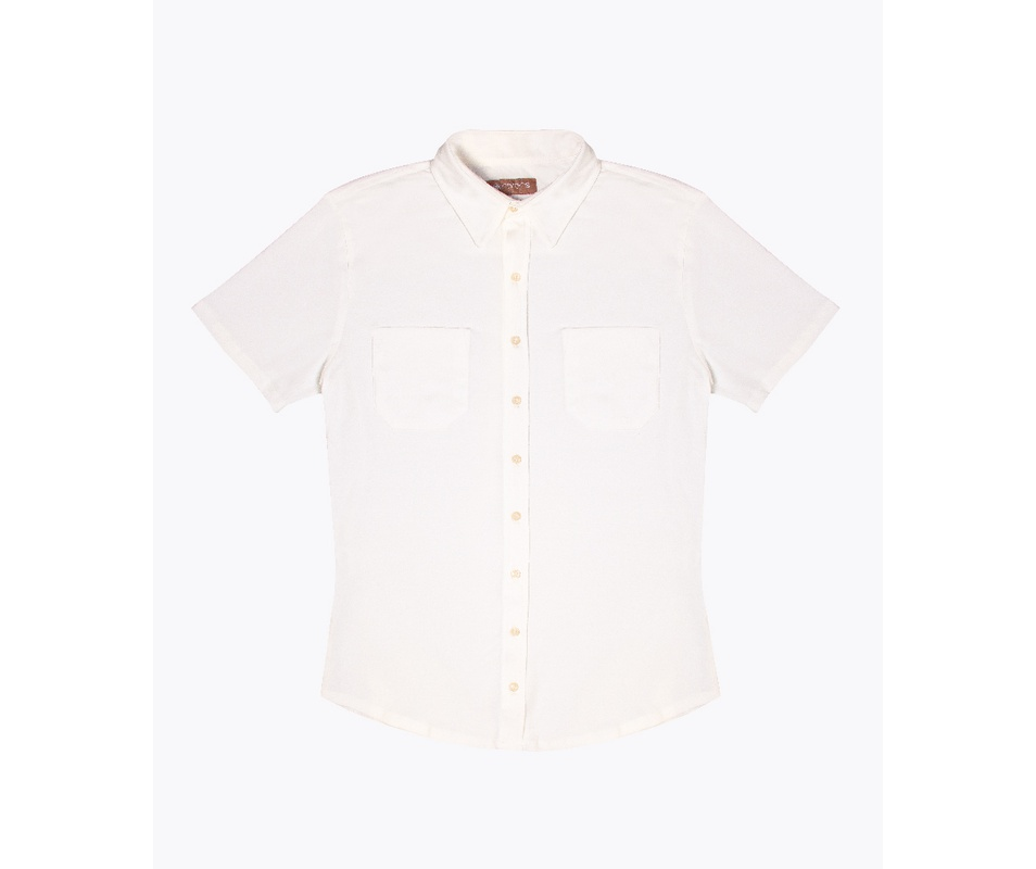 Camisa Malha Off White