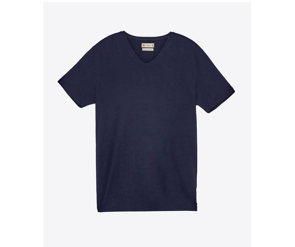 T-shirt Azul Gola V