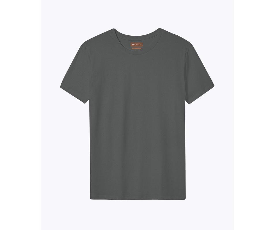 T-shirt Cinza Chumbo