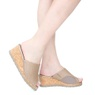 Tamanco Feminino Anabela - Light Tan