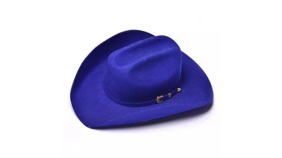 Chapéu Country Pralana Bareback Azul