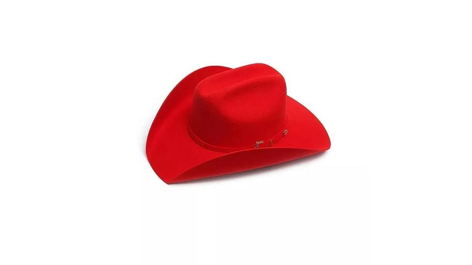 Chapéu Country Pralana Bareback Vermelho