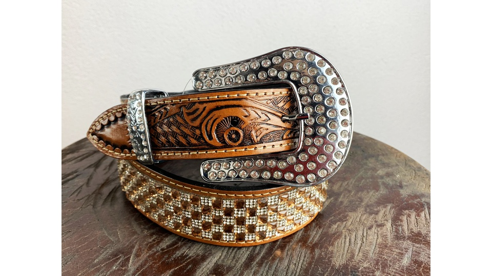 Cinto Country Strass