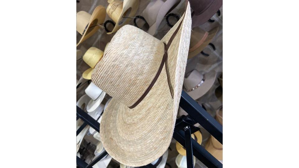 Chapéu Radar Palha de Palmeira Natural