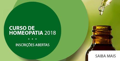 Curso de Homeopatia 2018