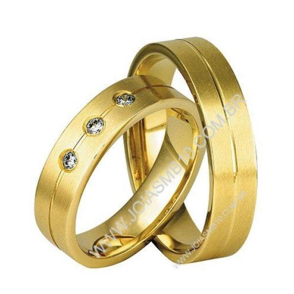 81c13ee73f4c1 Alianças de Ouro Anatômica Anápolis - Joias MB