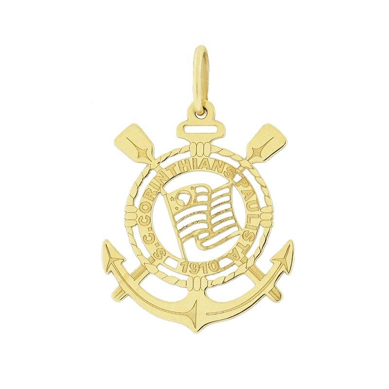 bc9d176a7a020 Pingente de Time Corinthians em Ouro 18K MICHELETTI JOIAS