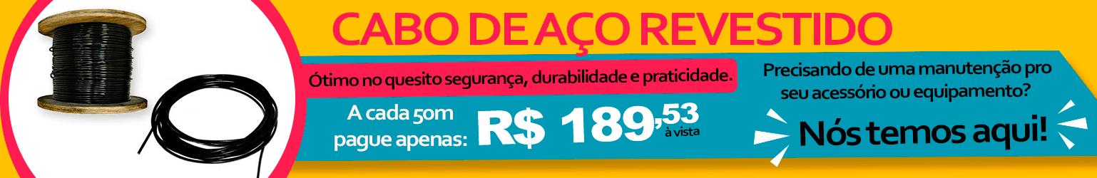 Banner Cabo de Aço Natural Fitness