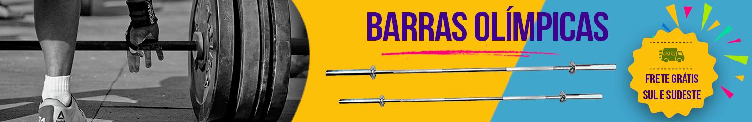 Banner Barras Olímpica Natural Fitness