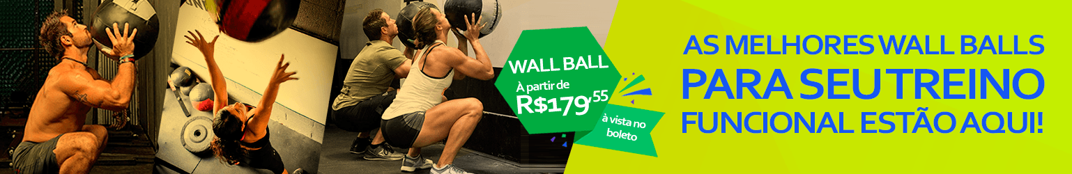 Banner Wall Ball Natural Fitness