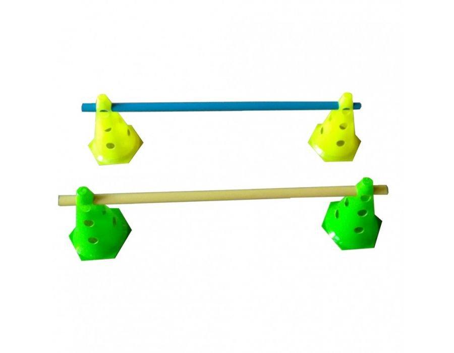 Kit 4 Cones de Agilidade e 2 Barreiras de Salto