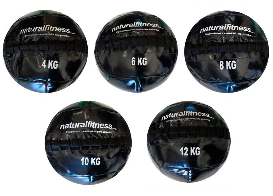 Wall Ball Natural Fitness 4KG 6KG 8KG