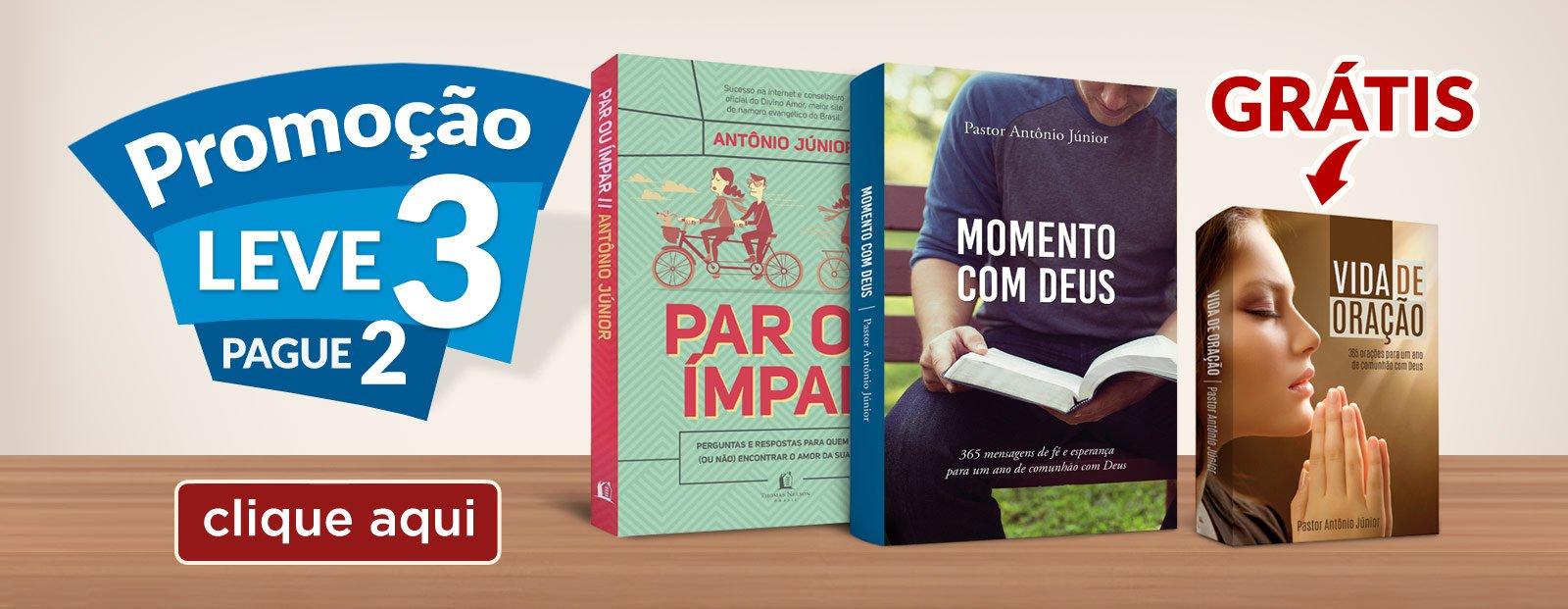 Livros Pastor Antonio Junior