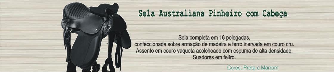 Australiana Pinheiro com Cacbeça