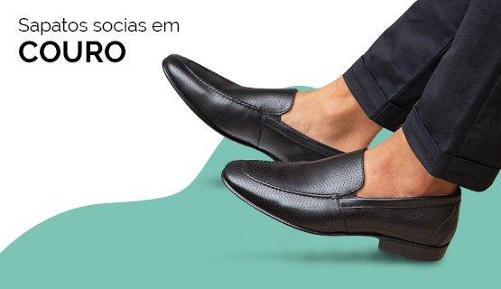 Sapatos Sociais em Couro