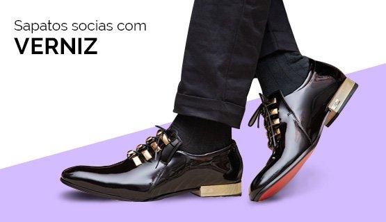 Sapatos Sociais com Verniz