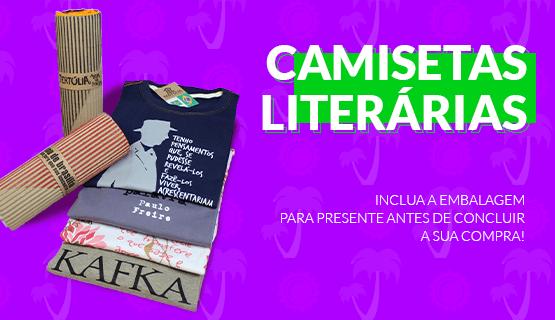 CAMISETAS LITERÁRIAS